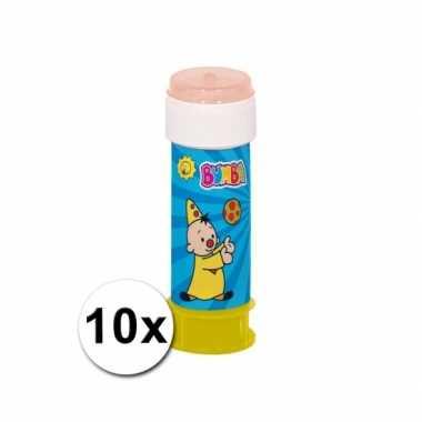Groothandel 10x bumba bellenblaas speelgoed