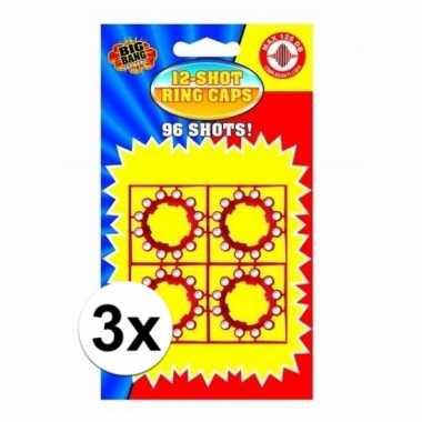 Groothandel 12 schots speelgoed plaffertjes 3 stuks