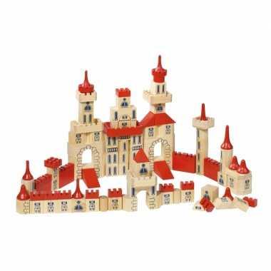 Groothandel 150-delige houten bouw blokken kasteel speelgoed kopen