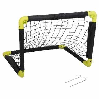 Groothandel 1x inklapbaar voetbaldoel 55 cm speelgoed kopen