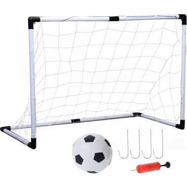Groothandel 1x voetbaldoel met bal 61 cm speelgoed