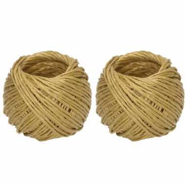Groothandel 2 bollen touw van 10 en 20 meter speelgoed kopen