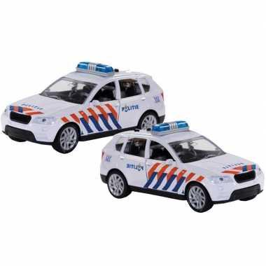 Groothandel 2 stuks speelgoed politie autos