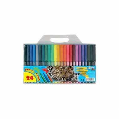 Groothandel 24 gekleurde viltstiften speelgoed kopen