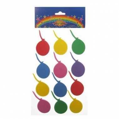 Groothandel 24 stickers van gekleurde ballonnen speelgoed kopen