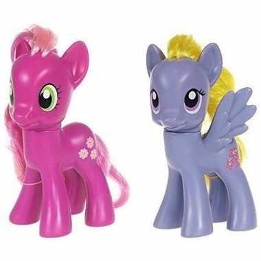 Groothandel 2x speelgoed my little pony plastic figuren cheerilee/lil