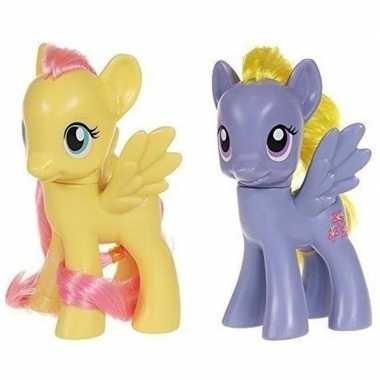 Groothandel 2x speelgoed my little pony plastic figuren fluttershy/li