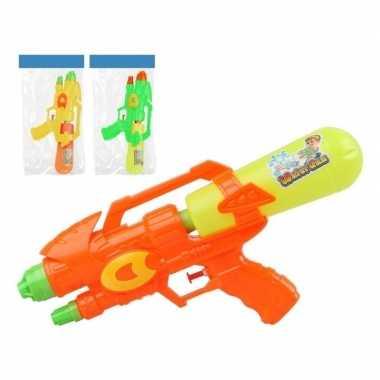 Groothandel 2x watergeweren geel/oranje 34 cm speelgoed kopen