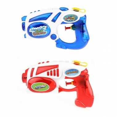 Groothandel 2x waterpistolen/waterpistool van 19 cm kinderspeelgoed kopen
