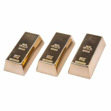 Groothandel 3 stuks magneetjes goudstaaf 6 cm speelgoed kopen