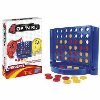 Groothandel 4 op een rij spel voor op reis speelgoed