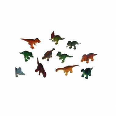 Groothandel 4 stuks plastic speelgoed dinosauriers van 16 cm kopen