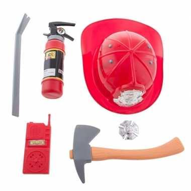 Groothandel 6-delige brandweer verkleed set voor kinderen speelgoed k