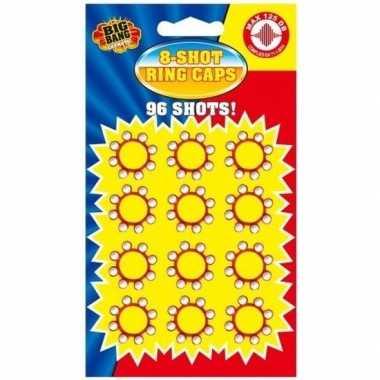 Groothandel 8-schots speelgoed plaffertjes 96x ringen kopen