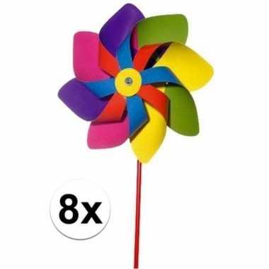 Groothandel 8x stuks speelgoed windmolentjes kopen