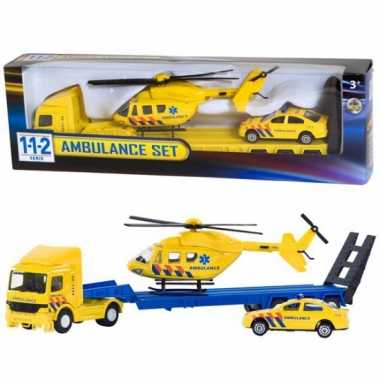 Groothandel ambulance speelgoed set kopen