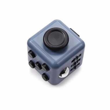 Groothandel anti stress speelgoed fidget cube grijs zwart kopen