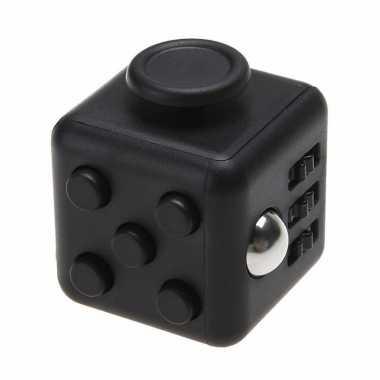 Groothandel anti stress speelgoed fidget cube zwart kopen