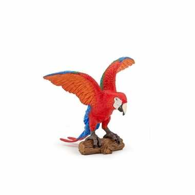 Groothandel ara papegaai speeldiertje 9 cm speelgoed kopen