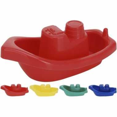 Groothandel badbootjes speelgoed 4 stuks 10,5 cm kopen