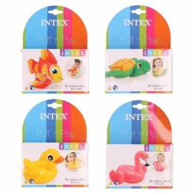 Groothandel badspeeltjes opblaasbare dieren setje 1 speelgoed kopen
