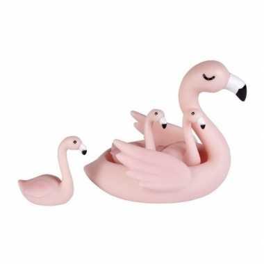 Groothandel badspeeltjes set flamingos speelgoed kopen
