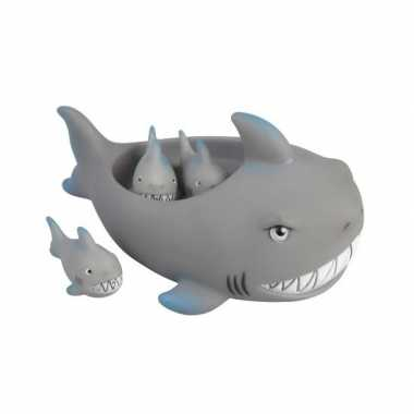 Groothandel badspeeltjes set haaien speelgoed kopen