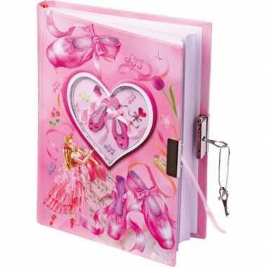 Groothandel ballerina dagboekje met slot speelgoed kopen