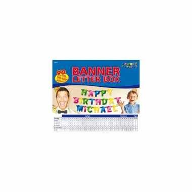 Groothandel banner letter box gekleurd speelgoed kopen