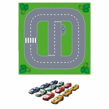 Groothandel basic diy speelgoed stratenplan/ kartonnen speelkleed + 1