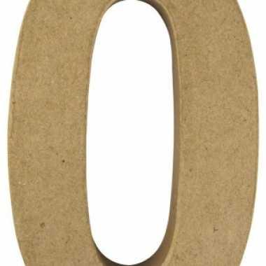 Groothandel beschilderbare cijfer 0 van papier mache speelgoed kopen