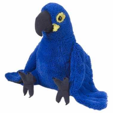Groothandel blauwe ara papegaai knuffel speelgoed kopen