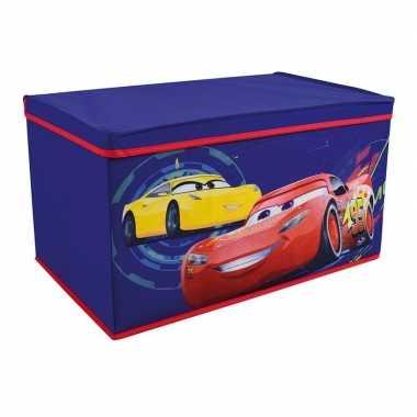 Groothandel blauwe lightning mcqueen en cruz ramirex speelgoed opberg