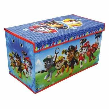 Groothandel blauwe paw patrol honden speelgoed opbergbox 76 cm kopen