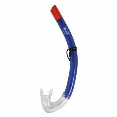 Groothandel blauwe snorkel met silicone mondstuk speelgoed kopen