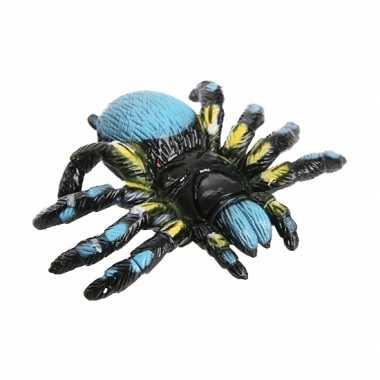 Groothandel blauwe speelgoed spin 10 cm kopen