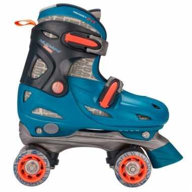 Groothandel blauwe verstelbare skeelers maat 34-37 speelgoed kopen