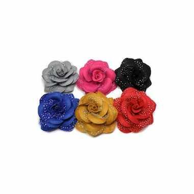 Groothandel bloem elastiek met glitters speelgoed