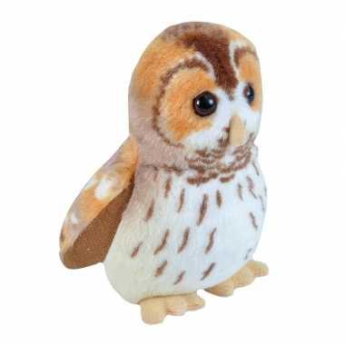 Groothandel bosuil vogeltje met geluid van pluche 13 cm speelgoed kopen