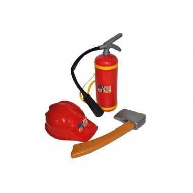 Groothandel brandweer verkleedset voor kinderen speelgoed kopen