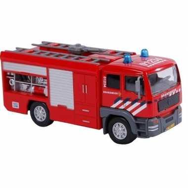 Groothandel brandweerauto met licht 16 cm speelgoed