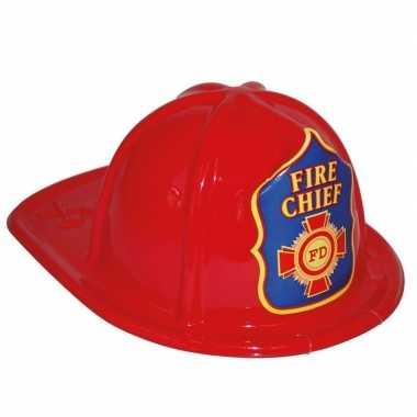 Groothandel brandweerhelm rood speelgoed verkleedaccessoire voor kinderen