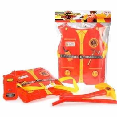 Groothandel brandweermannen speelgoed set 4-delig voor kids kopen