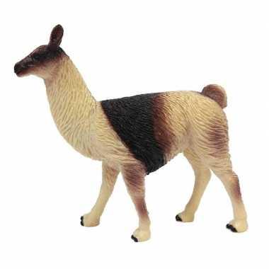 Groothandel bruine speelgoed lama 9 cm kopen