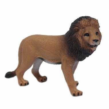 Groothandel bruine speelgoed leeuw 9 cm