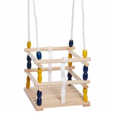 Groothandel buitenspeelgoed speeltoestel baby schommel van hout kopen