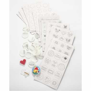 Groothandel buttons versieren pakket 100 stuks speelgoed kopen