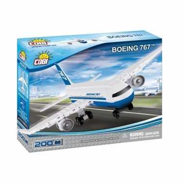 Groothandel cobi boeing 767 bouwstenen pakket speelgoed