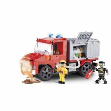 Groothandel cobi brandweerwagen bouwstenen pakket speelgoed