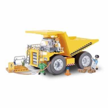 Groothandel cobi kiepwagen bouwstenen pakket speelgoed kopen